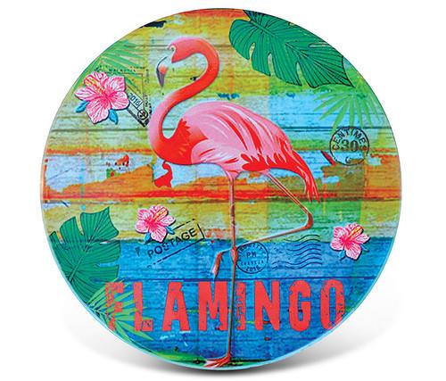 Ceramic Coaster Flamingo