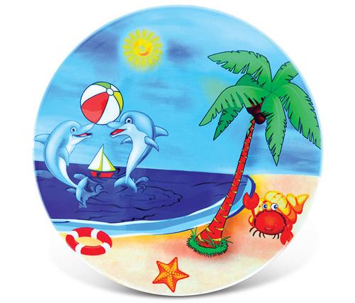 Ceramic Coaster Happy Beach