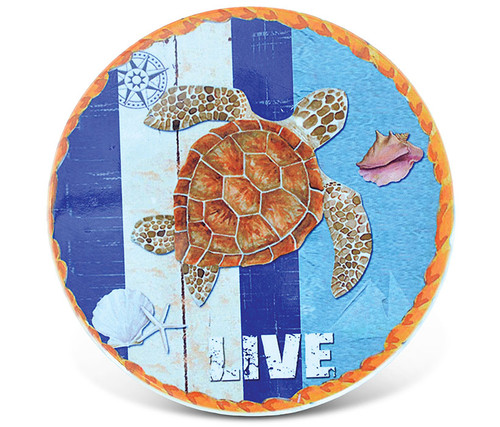Ceramic Coaster Sea Turtle