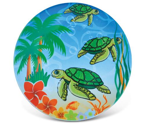 Ceramic Coaster Happy Sea Turtles