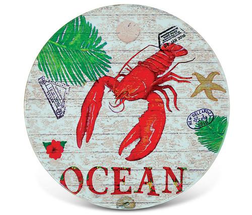 Ceramic Coaster Lobster