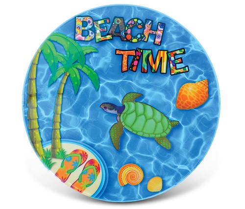 Ceramic Coaster Beach Time