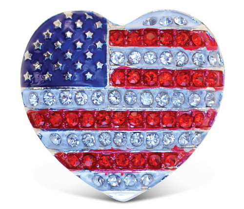 Sparkling Magnets American Heart