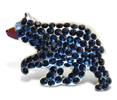 Sparkling Magnets Black Bear