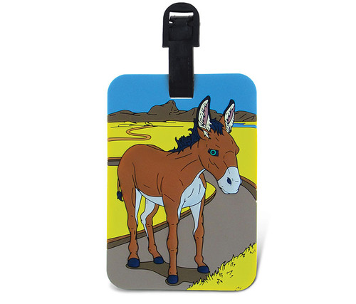 Luggage Tags Donkey