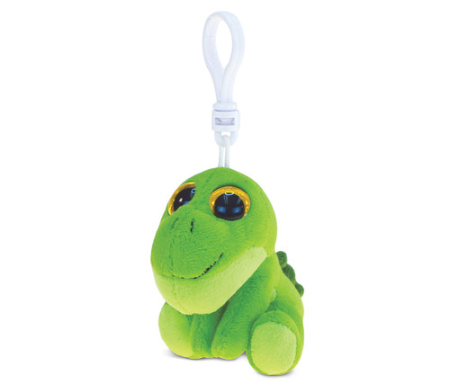 Big Eye Keychain Green Dino