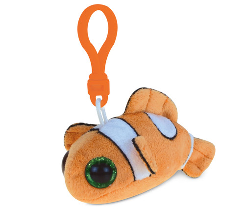 Big Eye Keychain Clown Fish