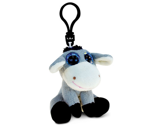 Big Eye Keychain Donkey