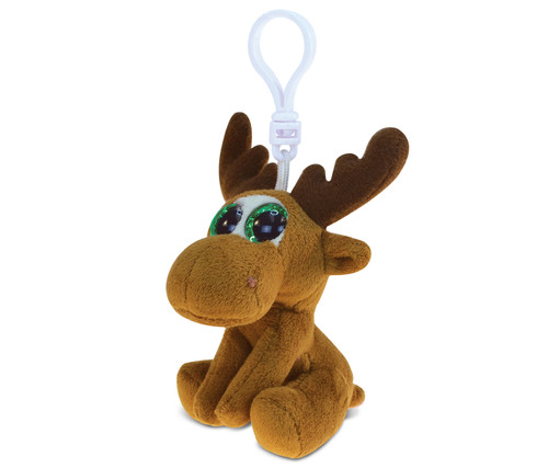 Big Eye Keychain Moose