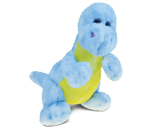 Super Soft Plush Blue Dinosaur