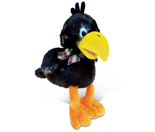 Super Soft Plush Sitting Crow