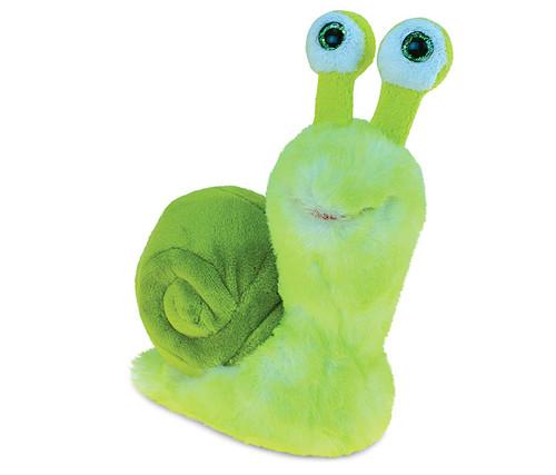 Super Soft Plush Green Snail