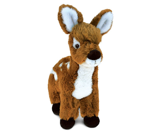 Super Soft Plush Standing Deer Small