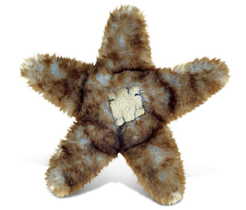 Super Soft Plush Brown Sea Star
