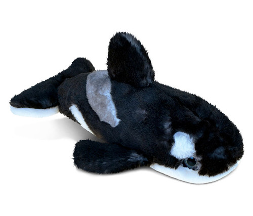 Super Soft Plush Wild Killer Whale Small