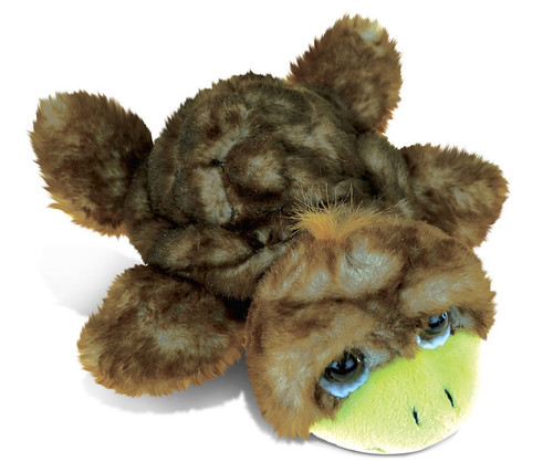 Super Soft Plush Brown Sea Turtle Small