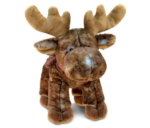 Super Soft Plush Standing Brown Moose