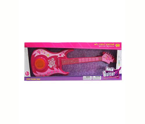 Pink Guitar  Kids Music Instrument