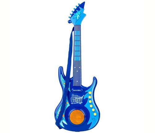 Blue Guitar  Kids Music Instrument