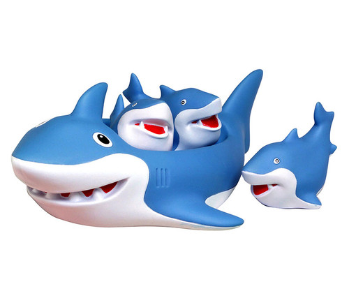 Shark Bath Family Bath Toy