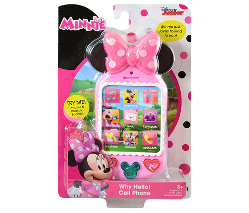 Minnie Why Hello There! Cell Phone Toy Cell Phone