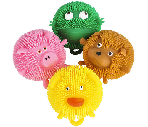 Puffer Ball Critters - 12 Assorted Styles Toys