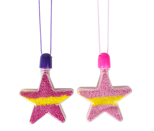 Star Sand Art Necklaces 12 pieces Toys and games