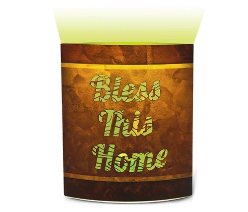 Bless This Home Led Lantern