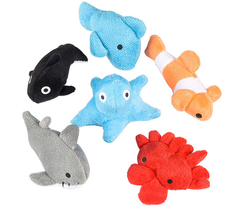 Super Soft Sea Life Toys 24pc Set Plush