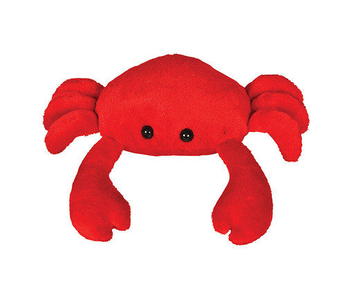 Super Soft Red Crab Beanie  Plush