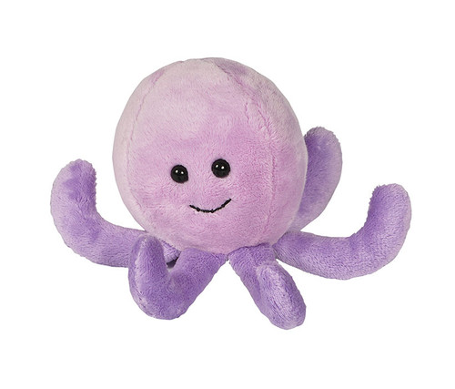 Purple Octopus Beanie Stuffed Animal Plush