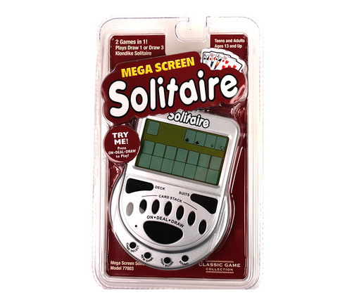 Mega Screen Solitaire Electronic Boardgame