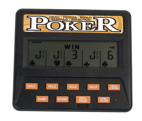 Classic 5-in-1 Poker Electronic