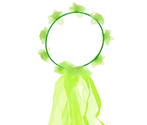 Green Flower Crown Headwrap Costume Accessory
