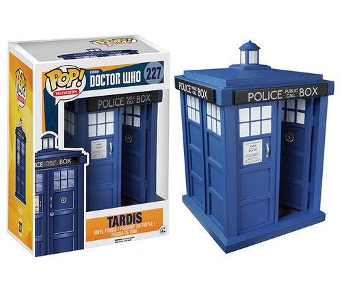 Funko POP! Doctor Who Tardis Vinyl Character Display Figure