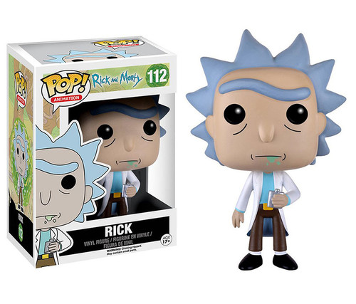 Funko POP! Rick Sanchez Character Display Figure