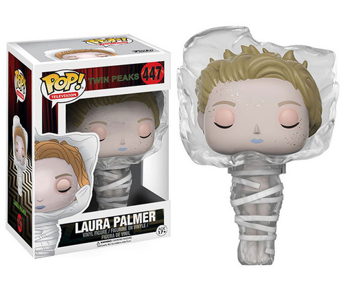 Twin Peaks Laura Palmer in Plastic Wrap Pop! Vinyl Figure Collectible Toy