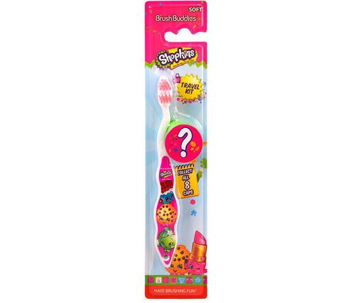 Brush Buddies Shopkins Childrens Toothbrush Toothbrush