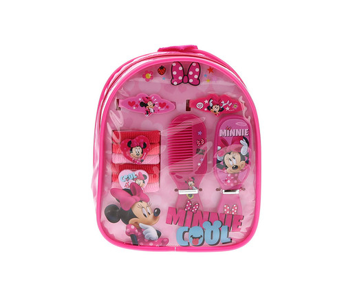 Disney Minnie Mouse Hair Accessories Backpack 7pc set Hair Accessories