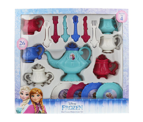 Disney Frozen 26pc Dinnerware Tea Set Dinnerwear Set
