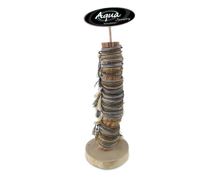 Aqua Bracelets Package Beaded Tassel
