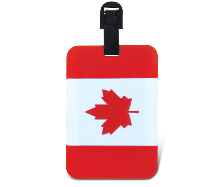 Luggage Tags Canadian Flag