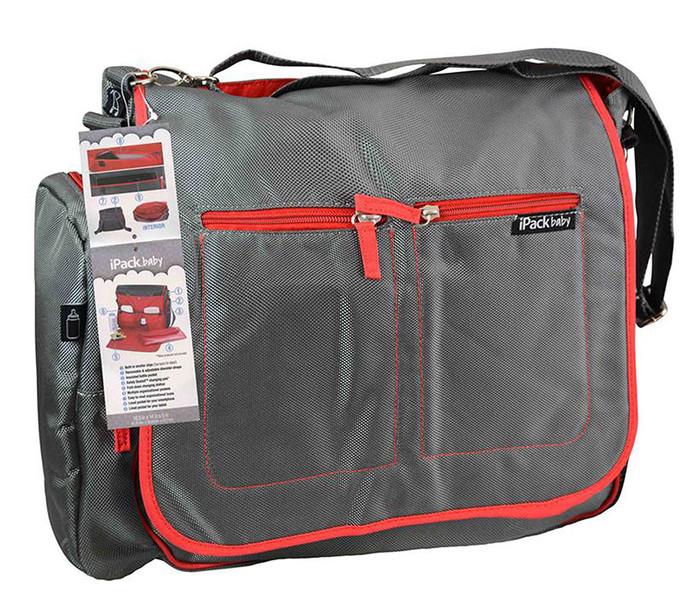 iPack Convertible Messenger Backpack Diaper Bag Diaper Bag
