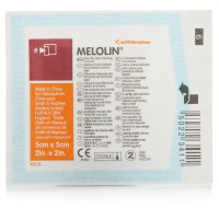 Melolin Sterile Non-Adherent Wound Dressing 5cm x 5cm