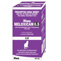Meloxicam Cat Suspension 30mL (Ilium brand)