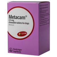 Metacam Chewable 2.5mg Tablets (84) – Meloxicam