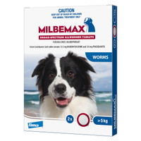 Milbemax Dog 2's (>5kg)