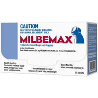 Milbemax Small Dog 50's (0.5 - 5kg)