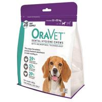 Oravet Dental Hygiene Chews for Medium Dogs (11-23kg) (28)