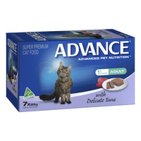 Advance Cat Adult With Delicate Tuna 85g x 7